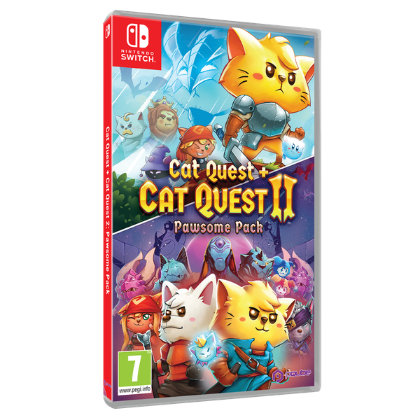 Cat Quest 2 Pawsome Pack Nintendo Switch Game