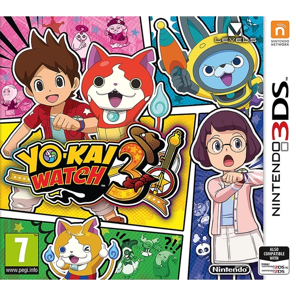 Yo Kai Watch 3 3DS Game