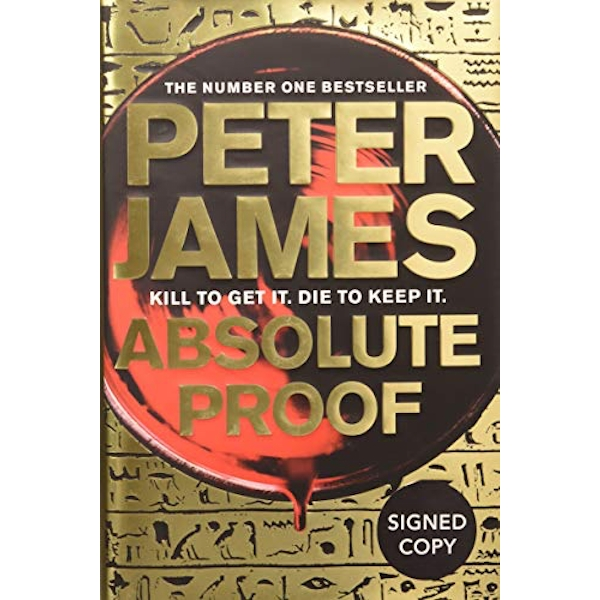 ABSOLUTE PROOF  Hardback 2018