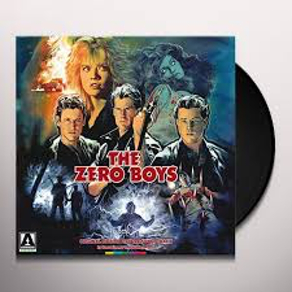 Hans Zimmer & Stanley Myers ‎– The Zero Boys Translucent Blue Vinyl