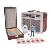 Dexter 3-Inch Action Figure in Tin Tote with Blood Slide Box