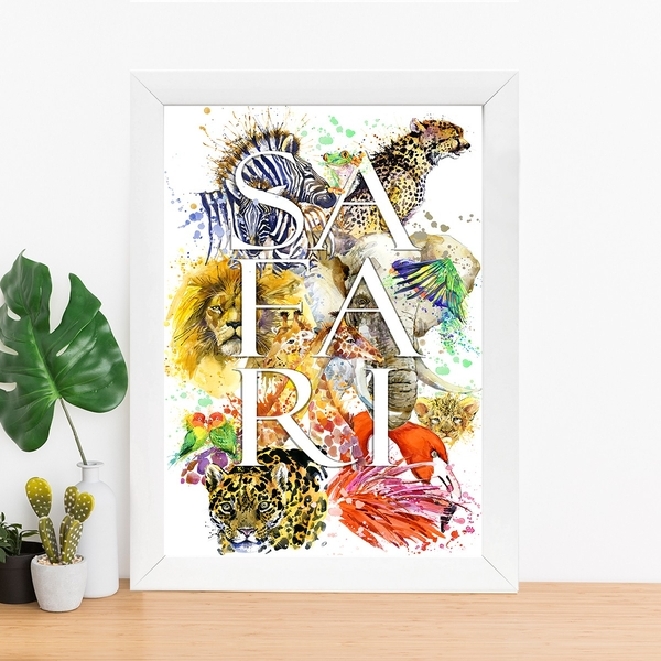 BC641289583 Multicolor Decorative Framed MDF Painting