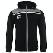 Sondico Precision Rain Jacket Adult Medium Black/Charcoal