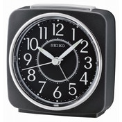 Seiko QHE140K Beep Alarm Clock with Snooze Black