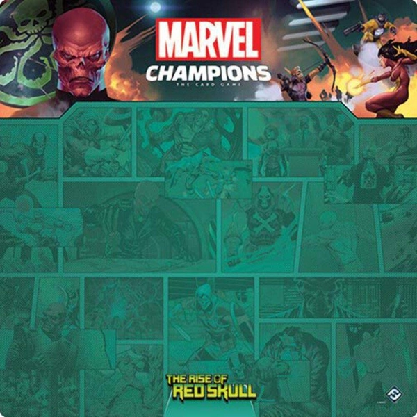 Marvel Champions - The Rise of Red Skull 1-4 Player Game Mat