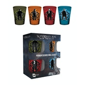 Supernatural Winchesters Coloured Glass Shot Glasses