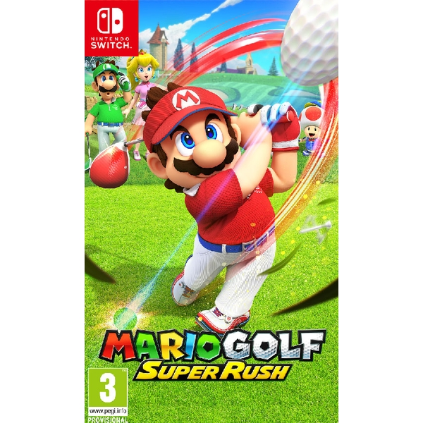 Mario Golf Super Rush Nintendo Switch Game