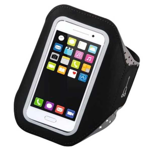 Hama Running Sports Armband for Smartphones Size XXL Black