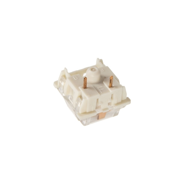Glorious PC Gaming Race Gateron Brown Switches - Linear Silent (120 Pieces)