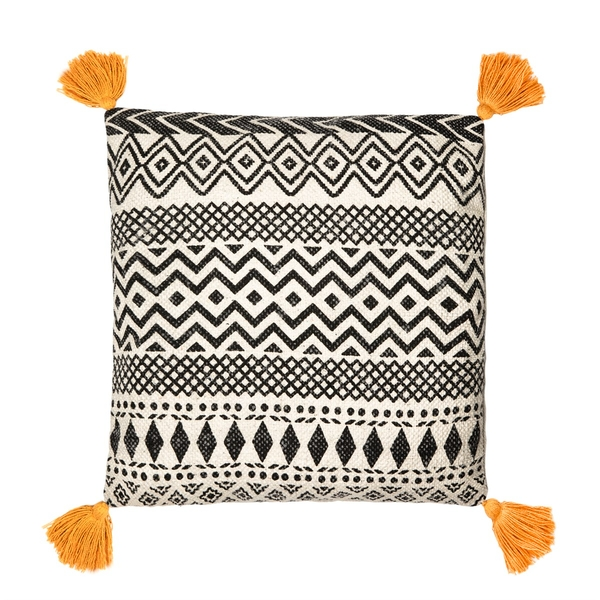 Sass & Belle Scandi Boho Geo Cushion