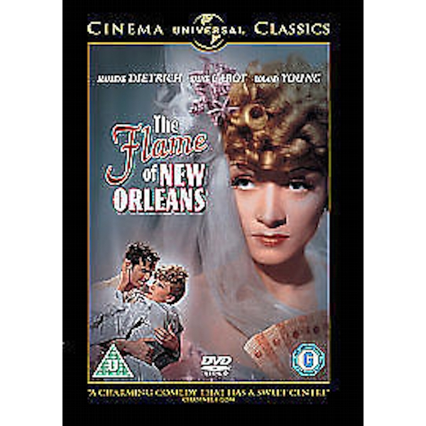 Flame Of New Orleans DVD