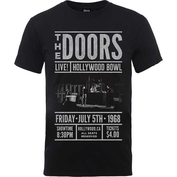 The Doors - Advance Final Unisex Medium T-Shirt - Black