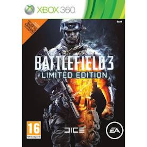 Battlefield 3 Limited Edition Game Xbox 360