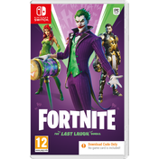 Fortnite The Last Laugh Nintendo Switch Game [Code In A Box]