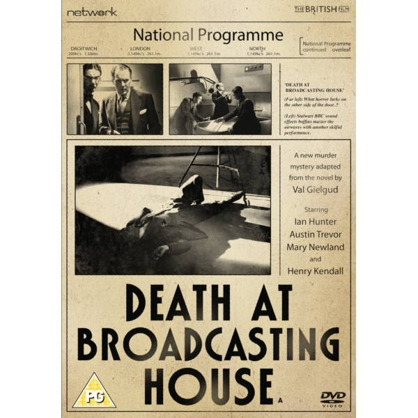 Death at Broadcasting House (1934) DVD