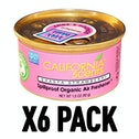 Balboa Bubblegum (Pack Of 6) California Scents Spillproof Organic Canister