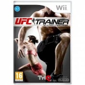 UFC Trainer Includes Leg Strap Game Wii