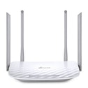TP-LINK (Archer C50 V3), AC1200 (867 300) Wireless Dual Band 10-100 Cable Router, 4-Port UK Plug