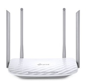 TP-LINK (Archer C50 V3), AC1200 (867 300) Wireless Dual Band 10/100 Cable Router, 4-Port UK Plug