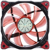 Akasa Vegas 120mm 1200RPM Red LED Ultra Quiet Fan