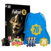 Fallout 76 PC Game + Exclusive Pin Badge Set (inc BETA)