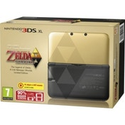 Limited Edition Zelda Nintendo 3DS XL Console with The Legend of Zelda A Link Between Worlds Game