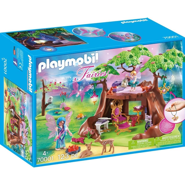 Playmobil Fairies Forest House Playset - Image 1