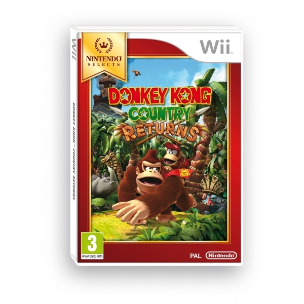 Donkey Kong Country Returns (Selects) Game Wii
