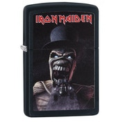 Zippo Iron Maiden Wildest Dreams Black Matte Finish Windproof Lighter