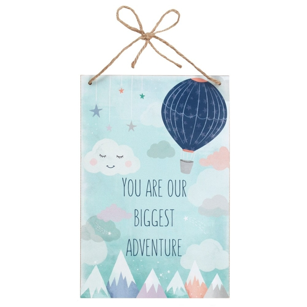 You Are Our Biggest Adventure MDF Plaque