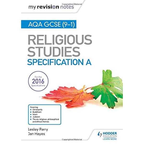 My Revision Notes AQA GCSE (9-1) Religious Studies Specification A by Jan Hayes, Lesley Parry (Paperback, 2017)