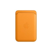 Apple Leather Wallet with MagSafe (for iPhone) - California Poppy