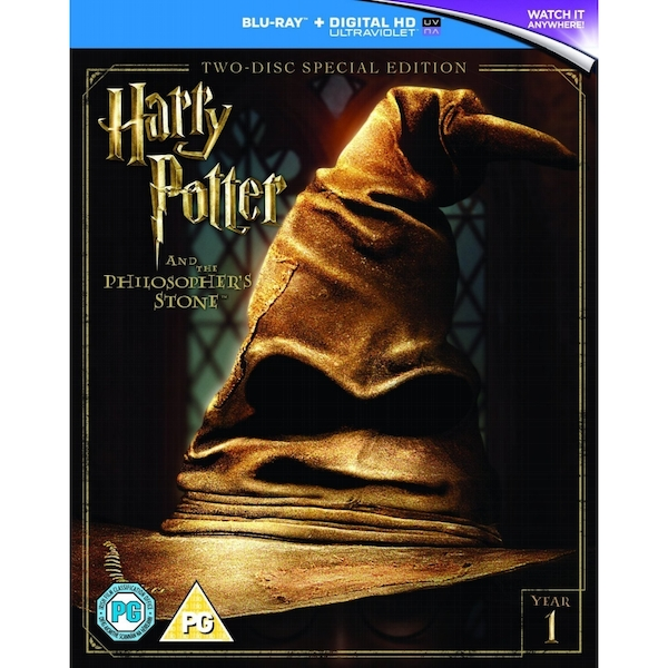 Harry Potter and the Philosopher's Stone (2016 Edition) Blu-ray