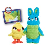 Toy Story 4 Ducky & Bunny Talking Plush