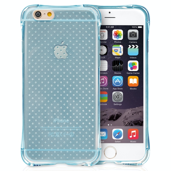 7e043a911 YouSave Accessories iPhone 6   6s Air Cushion Gel Case- Blue ...