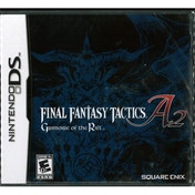 Final Fantasy Tactics A2 Grimoire Of The Rift Game DS (#)