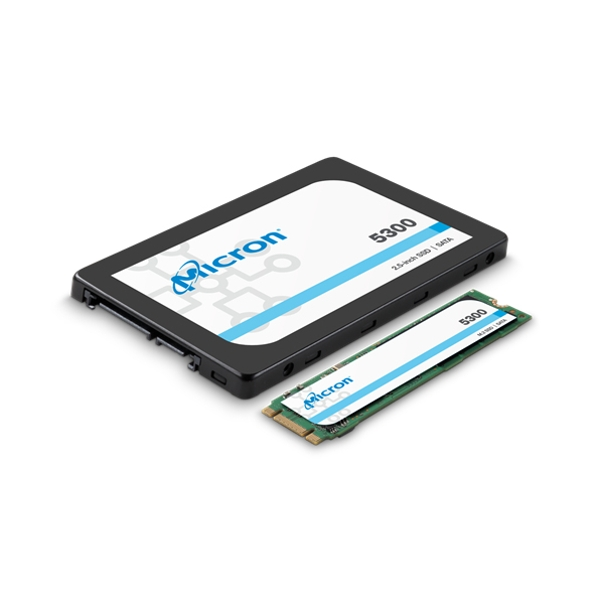 Micron 5300 PRO 2.5in SATA Non SED Enterprise Solid State Drive 240GB