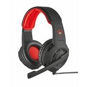 Trust GXT 310 Binaural Head-band Black,Red headset