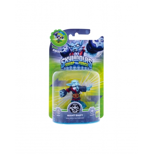 Night Shift (Skylanders Swap Force) Swappable Undead Character Figure - Image 2