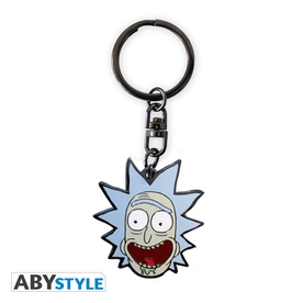 Rick And Morty - Rick Metal Keyring