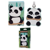 Pandarama Passport Holder and Luggage Tag Set