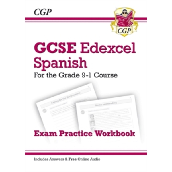 New GCSE Spanish Edexcel Exam Practice Workbook - For the Grade 9-1 Course (Includes Answers) by CGP Books (Paperback, 2017)