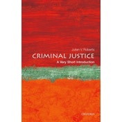 Criminal Justice: A Very Short Introduction by Julian V. Roberts (Paperback, 2015)