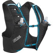 Camelbak Ultra Pro Vest (2 x 500ml) Quick Stow Flask Small Black/Atomic Blue