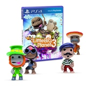 Little Big Planet 3 PS4 Game with Random Around The World Figure