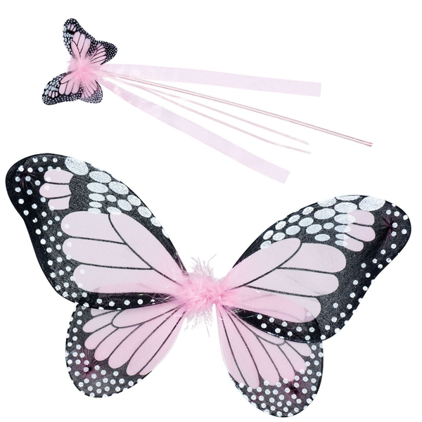 Butterfly Fairy Wings And Wand