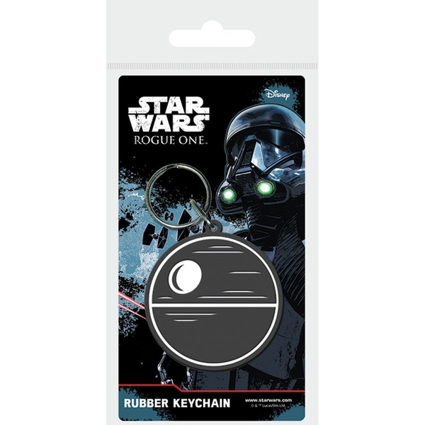 Star Wars Rogue One Death Star PVC Keyring