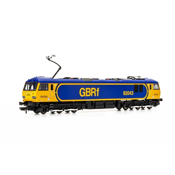 Hornby GBRf Europorte Class 92 Co-Co 92043 Debussy Era 11 Model Train
