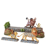 Carefree Camaraderie Simba Timon and Pumbaa (Lion King) Disney Traditions Figurine