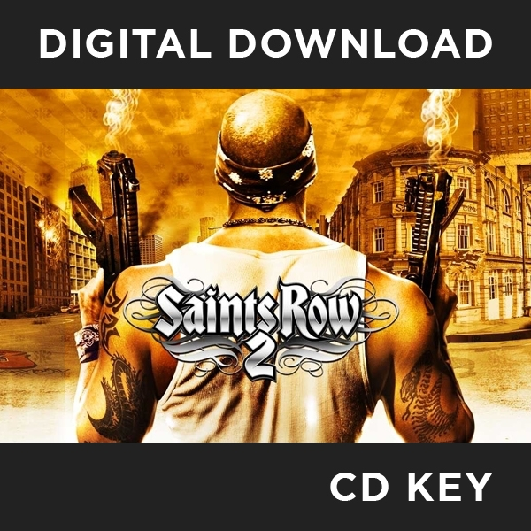 Saints Row 2 PC CD Key Download for Steam